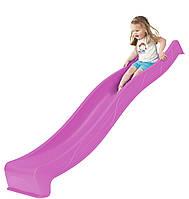 Горка спуск для детской площадки 3 м. KBT Фиолетовая