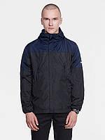 Куртка мужская (ветровка)   DARK BLUE WINDBREAKER синяя