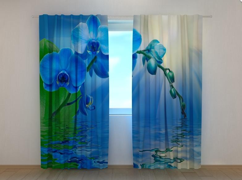 """Фотошторы """"Орхидея"""" 250 х 260 см"""