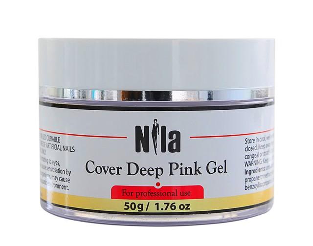 Nila Гель камуфлирующий Cover Deep Pink Gel 50 г.