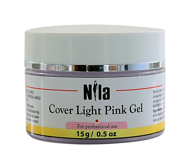 Nila Гель камуфлирующий Cover Light Pink Gel 15 г.