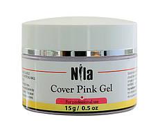 Nila Гель камуфлирующий Cover Pink Gel 15 г.