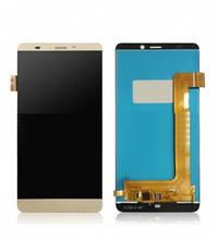 Дисплей Prestigio MultiPhone PSP5551 Duo Grace S5 з сенсором (тачскрін) золотистий