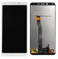 Дисплей Xiaomi Redmi 6, Redmi 6A с сенсором (тачскрином) белый