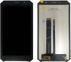 Дисплей Doogee S60 с сенсором (тачскрином) черный