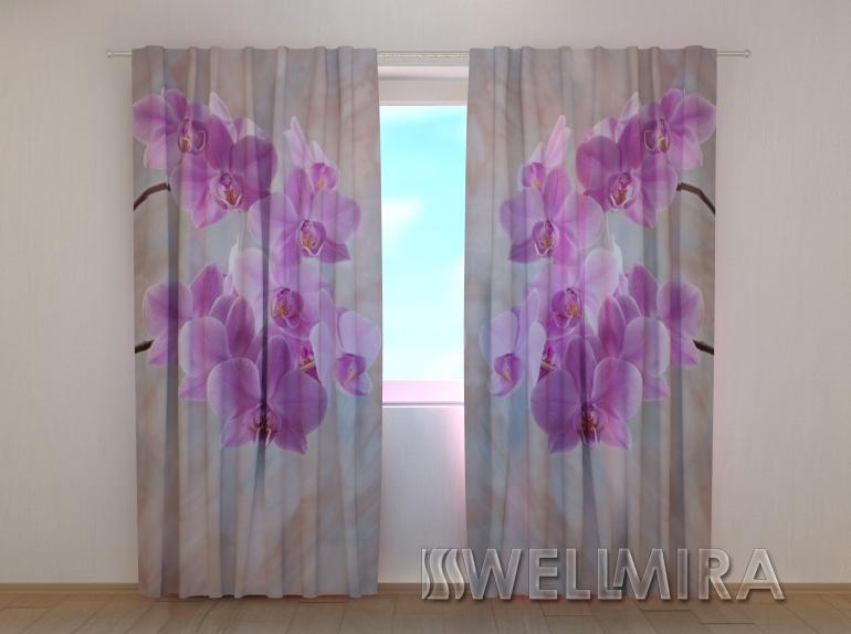 "Фотошторы ""Колибри Орхидеи 2"" 250 х 260 см"
