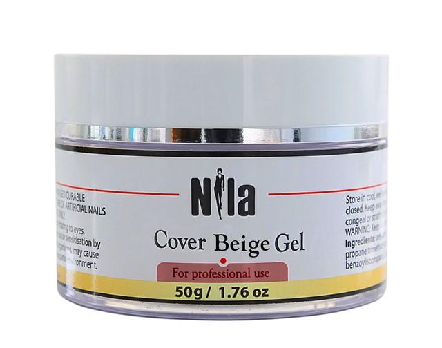 Nila Гель камуфлирующий Cover Dark Pink Gel 50г