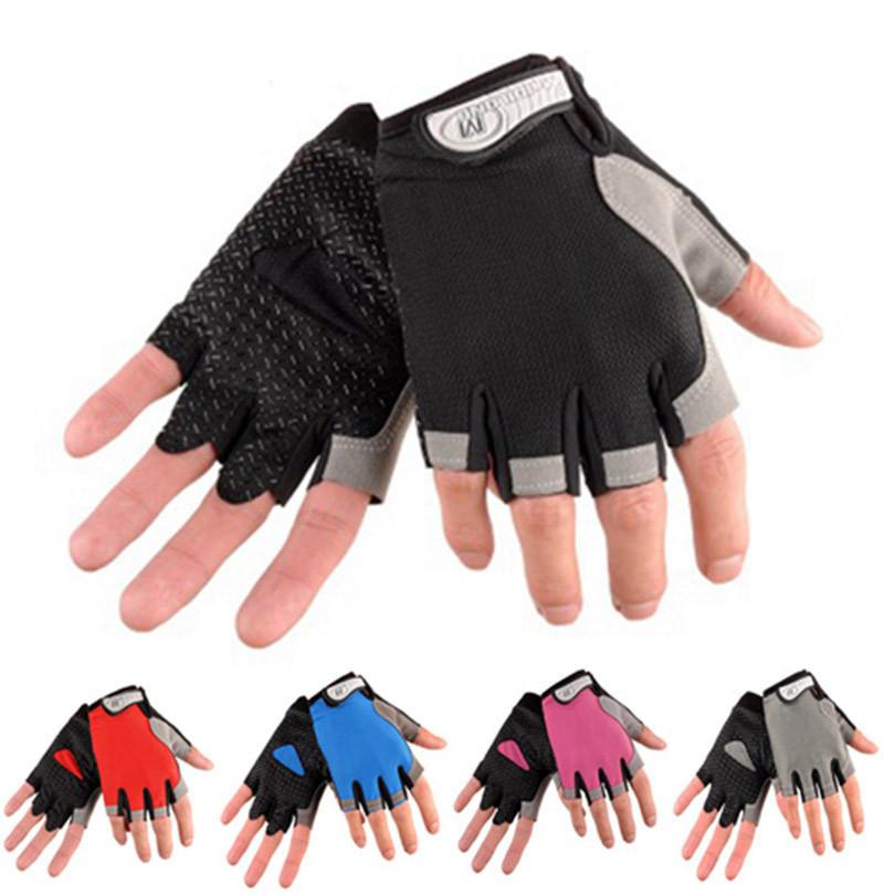 Велосипедні / спортивні безпалі рукавички HUWAI легкі вентилирующиеся / з махрової вставкою / р-ри S - XL