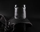 Зимняя тёплая флисовая удлиненная облегченная балаклава-трансформер с непродуваемой фронтальной частью WHEELUP, фото 4