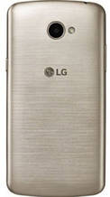 Задняя крышка LG X220 K5 Dual Sim золотистая