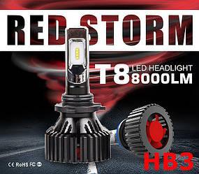 Лампочки LED HB3 (9005) T8 6500K / 8000Lm, 9-32V