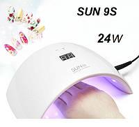 УФ лед лама для маникюра SUN 9s Led гибрид 24W с экраном и сенсором