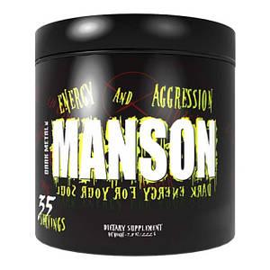 Предтренировочный комплекс Insane Labz Dark Metal Manson, 263 грамма Ягодный микс
