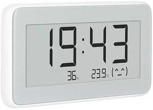 Термо-гігрометр Xiaomi Mijia Digital Hygrometer Clock (0°C ~ 60°C; 0% ~ 99%) Bluetooth додаток Mi Home