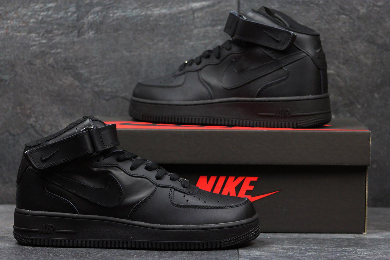 Мужские кроссовки Nike Air Force High Black
