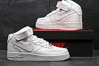 Мужские кроссовки Nike Air Force High White, фото 1