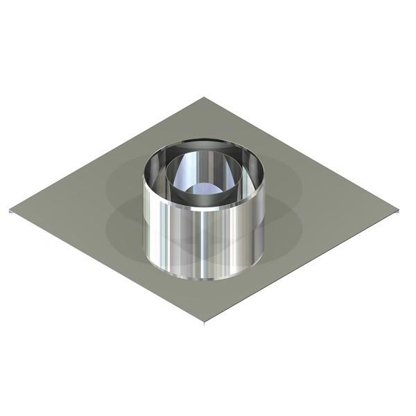 Фабрика ZIG Подставка настенная для дымохода ø 150/220 н/н 0,6 мм