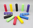 Грипсы / ручки вело силиконовые лёгкие мягкие с рифлением / цепкой накаткой (внутренний диаметр 22,2 мм), фото 3