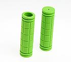 Грипсы / ручки вело силиконовые лёгкие мягкие с рифлением / цепкой накаткой (внутренний диаметр 22,2 мм), фото 7