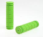 Грипсы / ручки вело силиконовые лёгкие мягкие с рифлением / цепкой накаткой (внутренний диаметр 22,2 мм), фото 8