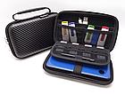 Органайзер / кейс / бокс жёсткий GUANHE GH1808 (180*120) с ручкой, для Nintendo New3DS XL / проводов / HDD, фото 2
