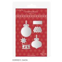 Ножи новогодние Christmas Basics - Baubles, DovecraftDCDIE004X15