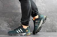 Мужские кроссовки в стиле Adidas Fast Marathon, зеленые 42 (26,7 см)