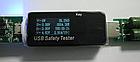 """USB тестер JUWEI J7-t (3.0V-30V; 0A-5.1A) / """"чёрный доктор"""" - измерение: A, V, ёмкости повербанка (мА*ч), Вт*ч, фото 10"""