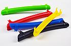 Универсальная вело / велосипедная пластмассовая накладка / защита пера от ударов цепи и повреждения ЛКП, фото 4