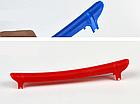 Универсальная вело / велосипедная пластмассовая накладка / защита пера от ударов цепи и повреждения ЛКП, фото 5