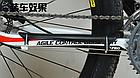 Универсальная вело / велосипедная пластмассовая накладка / защита пера от ударов цепи и повреждения ЛКП, фото 10