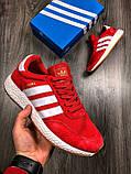 Чоловічі кросівки Adidas Iniki Runner Red, фото 2
