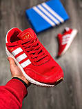 Мужские кроссовки Adidas Iniki Runner Red, фото 3