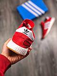 Чоловічі кросівки Adidas Iniki Runner Red, фото 5
