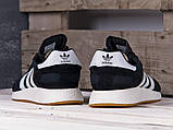 Мужские кроссовки Adidas Iniki Runner Black/White, фото 3