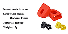 Защита / насадки / колпачки силиконовые для вело / велосипедных шатунов SOUL TRAVEL, фото 5