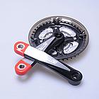 Защита / насадки / колпачки силиконовые для вело / велосипедных шатунов SOUL TRAVEL, фото 7
