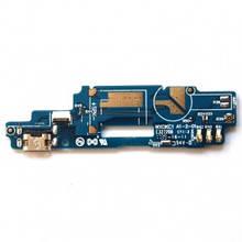 Нижняя плата ZTE Blade A610 с разъемом зарядки, микрофоном