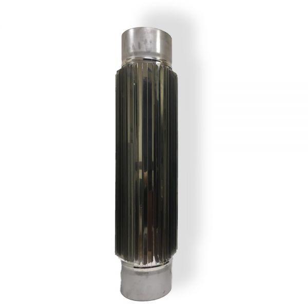 Фабрика ZIG Радиатор для дымохода 0,5 м D 150 мм толщина 0,8 мм