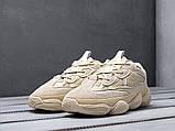 Чоловічі кросівки Adidas Yeezy 500 Beige, фото 3