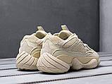 Чоловічі кросівки Adidas Yeezy 500 Beige, фото 4
