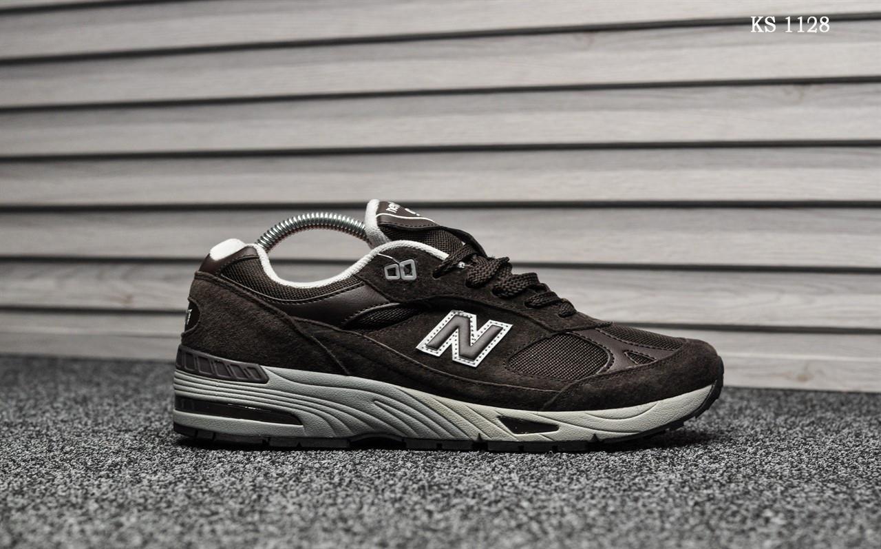 Кросівки чоловічі New Balance 991 (коричневі)