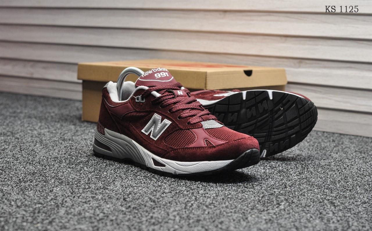 Кросівки чоловічі New Balance 991 (чорні)