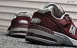 Кросівки чоловічі New Balance 991 (чорні), фото 2