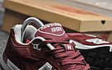 Кросівки чоловічі New Balance 991 (чорні), фото 3