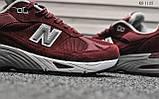 Кросівки чоловічі New Balance 991 (чорні), фото 6