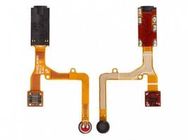 Разъем наушников Samsung P1000 Galaxy Tab, P1010, с микрофоном, на шлейфе