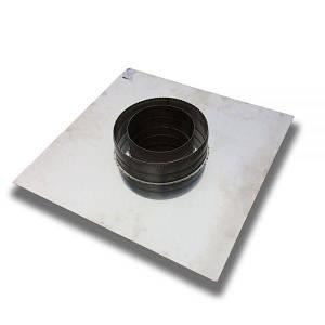 Фабрика ZIG Разгрузочная платформа для дымохода 130/200 нерж