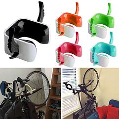 """Крепление / клипса / фиксатор  велодержатель / крепёж велосипеда на стену """"с крылышками"""" два вида: ШОССЕ / MTB"""