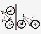 """Крепление / клипса / фиксатор  велодержатель / крепёж велосипеда на стену """"с крылышками"""" два вида: ШОССЕ / MTB, фото 4"""